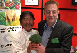 Qualipac Broccoli Top Pick for Iron Chef